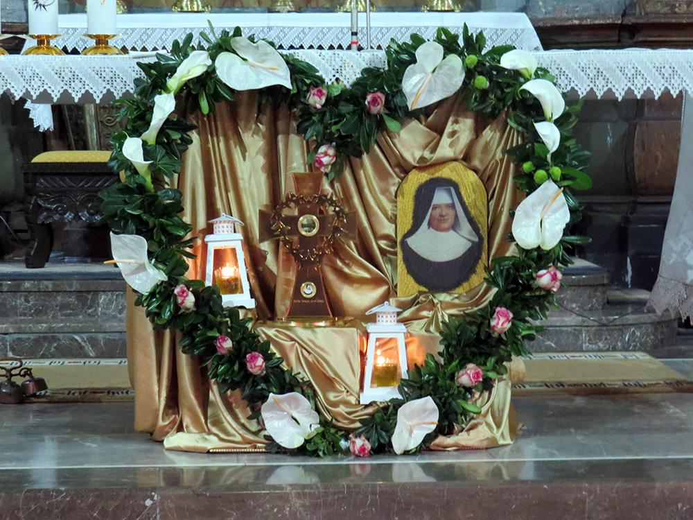 Relikvijar M. Terezije od sv. Josipa u Puntu