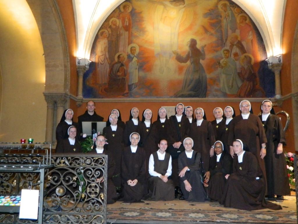 Posjet mjestu osobitih milosti: Kapela ukazanja Srca Isusova u Paray-le-Monialu