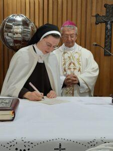 potpisivanje povelje zavjetovanja na sv. oltaru