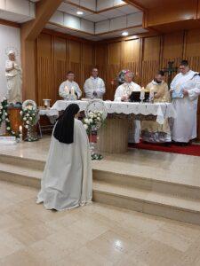 blagoslov nad zavjetovanom sestrom